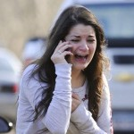 Girl Crying Sandy Hook Shooting