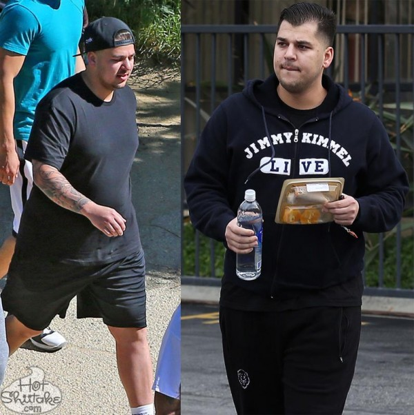Rob Kardashian Fat