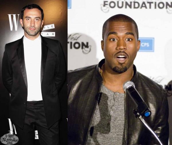 Riccardo Tisci Kanye West Gay
