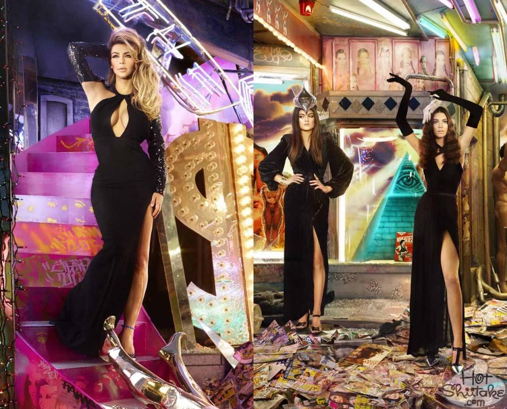 Christmas Card Kardashian | Decorating Ideas