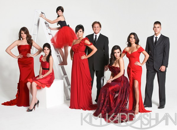 Kardashian Family Christmas Cards 2008