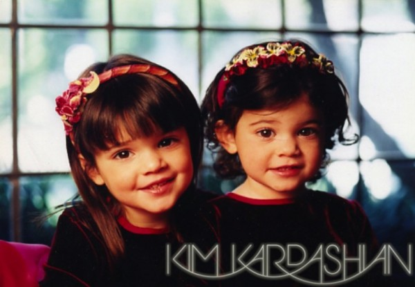 Kardashian Family Christmas Cards 1982