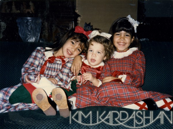 Kardashian Family Christmas Cards 1986
