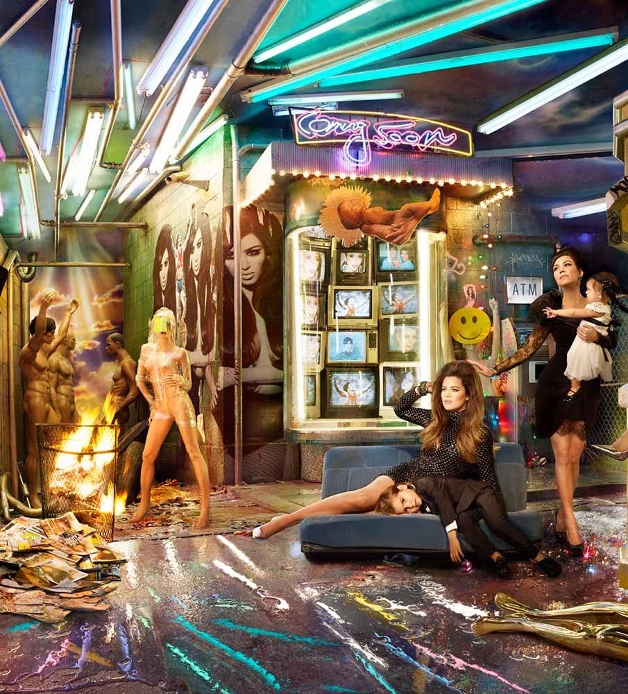 Kardashian christmas card illuminati symbols images - Christmas ...